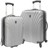 Traveler's Choice Travelers choice Lightweight 2-Piece Hardside Luggage Set