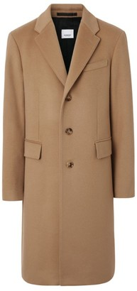 Burberry Wool-Cashmere Tailored Overcoat
