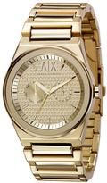 Armani Exchange Classic Gold Chronograph Watch
