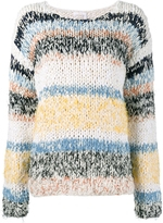 Chloé Stripe Knitted Sweater