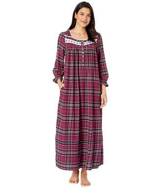 Eileen West Cotton Lawn Woven Long Sleeve Ballet Nightgown