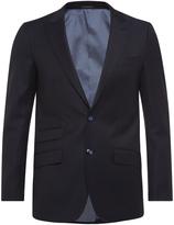 Oxford Hopkins Peak Lapel Wool Suit Jacket
