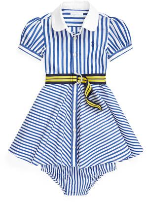 Ralph Lauren Shirtdress, Belt Bloomer Set