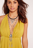 Missguided Statement Layered Necklace