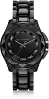 Karl Lagerfeld 7 43.5 mm Black IP Stainless Steel Unisex Watch