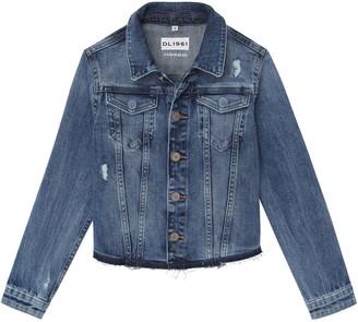 DL1961 Girl's Manning Denim Jacket, Size 4-6X