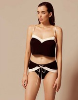 Agent Provocateur Maria Short Black And Pink