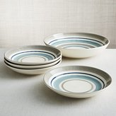 Crate & Barrel Dumont Stripe Bowls, Set of 5