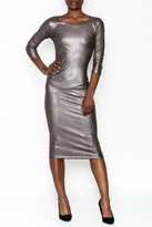Wow Couture Gilded Bodycon Dress