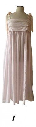 Three Graces London Pink Cotton Dresses