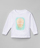 Swag White Hot Air Balloon Personalized Tee - Kids & Tween