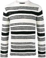 The Elder Statesman picasso orbit stripe jumper