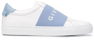 Givenchy Logo Strap Low-Top Sneakers