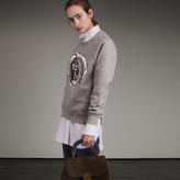 Burberry Unisex Pallas Heads Motif Sweatshirt