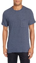 Velvet by Graham & Spencer Men's Legend Stripe Pique T-Shirt