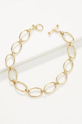 Hazen & Co. Jess Choker Necklace By Hazen & Co. in Gold