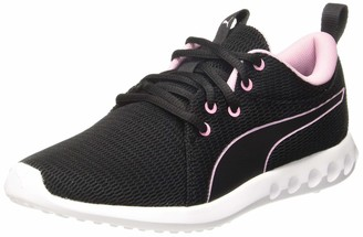 Puma Women's Carson 2 New Core WN's Low-Top Sneakers Black-Pale Pink 8.5 UK