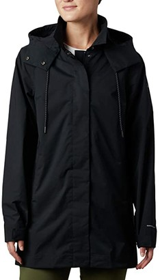 Columbia East Parktm Mackintosh Jacket (Black) Women's Coat
