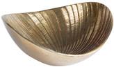Gold Sunrise Large Oval Bowl