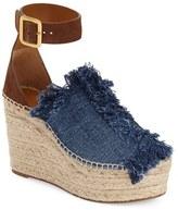 Chloé Women's 'Isa' Espadrille Wedge Sandal
