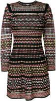 M Missoni geometric patterned mini dress