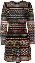 M Missoni robe courte à motif géométrique