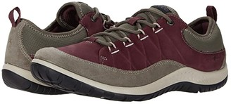 ECCO Sport Aspina Hydromax Low (Warm Grey/Wine) Women's Shoes