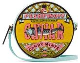 Olympia Le-Tan Caviar canvas cross-body bag