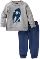 Tea Collection Year of The Monkey Top & Pant Set (Baby Boys)