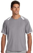 Russell Athletic Dri-Power T-Shirt with Colorblock Inserts, XL