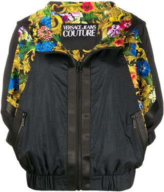 Versace Jungle Print Bomber Jacket