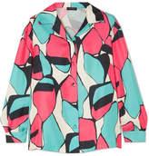 Marc Jacobs Printed Silk-twill Shirt - Pink