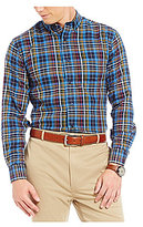 Daniel Cremieux Signature Non-Iron Plaid Long-Sleeve Shirt