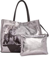Betsey Johnson In A Flash Large Shopper Tote with Pouch