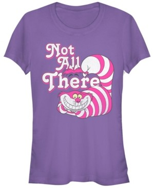 Fifth Sun Women's Alice in Wonderland Not All There Short Sleeve T-shirt