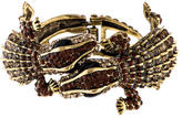 Kenneth Jay Lane Double Alligator Cuff