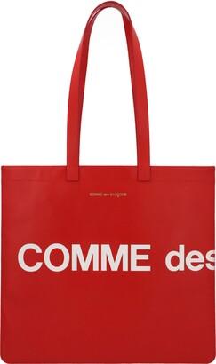 Comme des Garcons Wallet huge Logo Bag