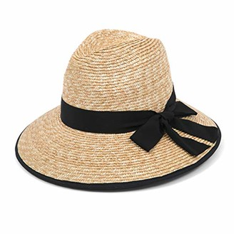 Gottex Women's Celine Sunhat in Natural/Black Adjustable