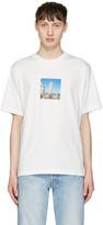 Sunnei White Pisa Tower T-shirt