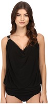 Miraclesuit Solid Separates Luxe Tankini Top Women's Swimwear