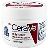 CeraVe Itch Relief Moisturizing Cream Tub, 12 Ounce