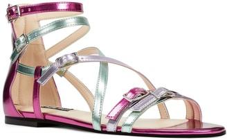Nine West Lorna Women's Leather Gladiator Sandals