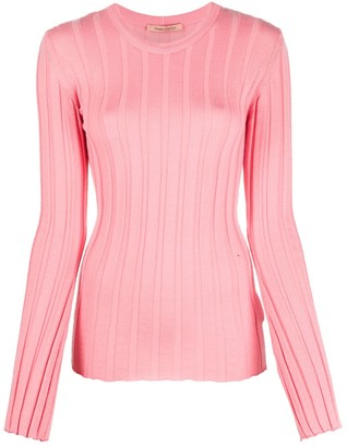 Maggie Marilyn Ribbed Crew Neck Jumper