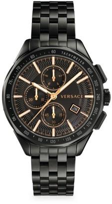 Versace Glaze Black IP Bracelet Watch