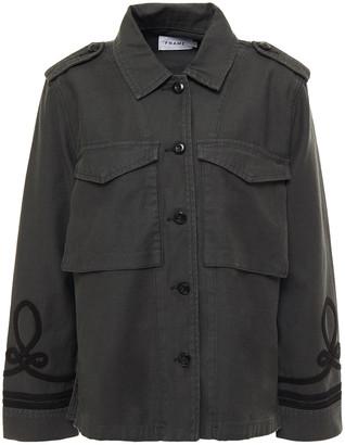 Frame Appliqued Denim Jacket