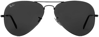 Ray-Ban Aviator Classic Sunglasses in Black | FWRD
