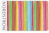 Nordstrom Colorful Stripes Gift Card $1000