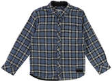 Little Marc Jacobs Long-Sleeve Flannel Shirt, Size 6-10