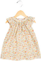 Bonpoint Girls' Sleeveless Floral Print Dress