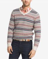 Izod Men's Big & Tall Fair Isle Sweater